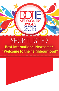 Dot IE Net Visionary Award - Finalist 2015