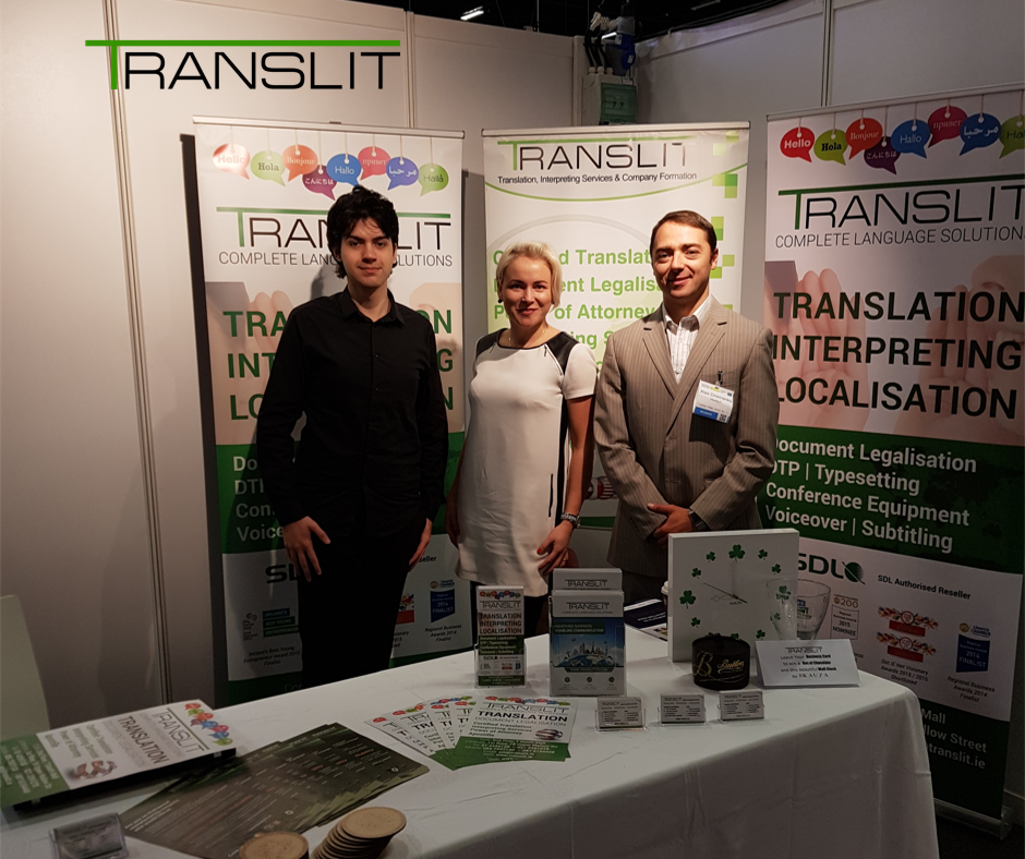 Translit Team Stand