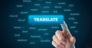 Translating languages